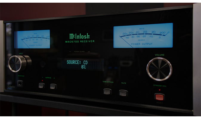 Mcintosh Mac6700 Receiver - Audio Exchange Richmond VA