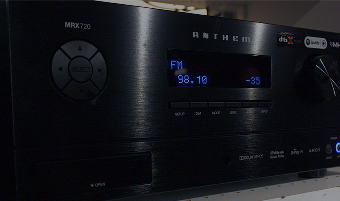 Anthem Audio Video Receiver Exchange Richmond Va