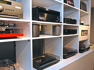 Audio Receivers, Amplifiers, Streaming Devices, & Turntables