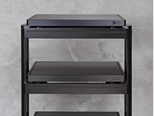 4 Tier Black Custom Rack