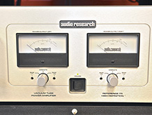 Audio Research Tube Amplifier