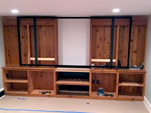 Custom Theater Installation
